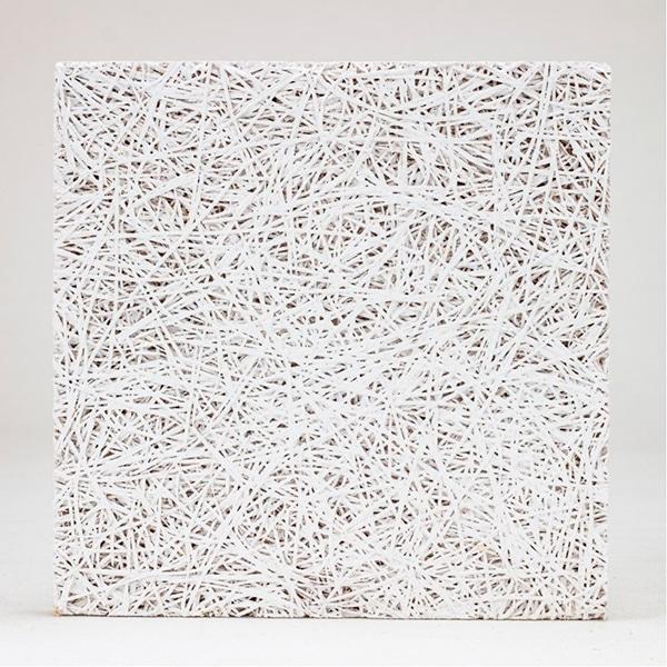 Valkoinen Cewood-akustiikkalevy 1200 mm x 600 mm x 25mm, 26,90 € / m²